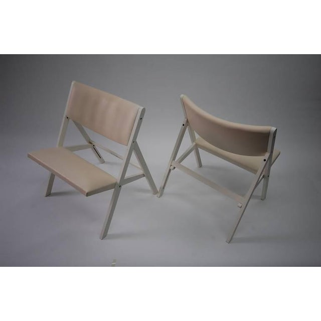 """Pair of Gio Ponti """"Chair of Little Seat"""" Chairs For Sale - Image 8 of 9"""