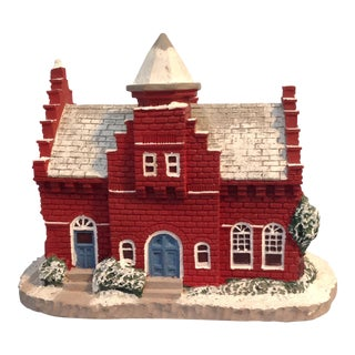 "Norman Rockwell's Main Street ""The Town Offices"" Landmark Figurine For Sale"