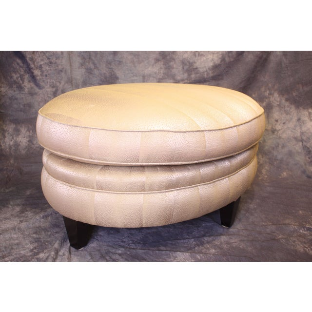 Ottoman by Donghia For Sale - Image 9 of 9
