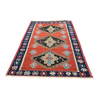 Modern Turkish Kilim Rug For Sale
