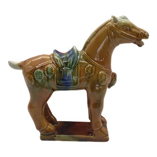 Porcelain Tang Dynasty Horse in Box For Sale