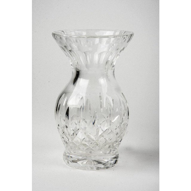 Clear Crystal Vases Set Of 5 Chairish