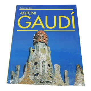 Antoni Gaudi Hardcover Table Coffee Book For Sale