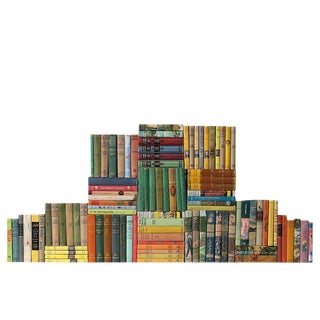 Curated Children's Classics Library - Set of 100 Decorative Books