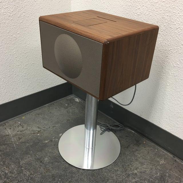 Geneva Lab Walnut and Chrome Sound System - Image 3 of 7