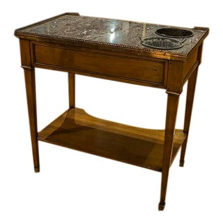 """19th Century French Directoire Style """"Rafraichissoir"""" Wine Cooler Side Table For Sale"""