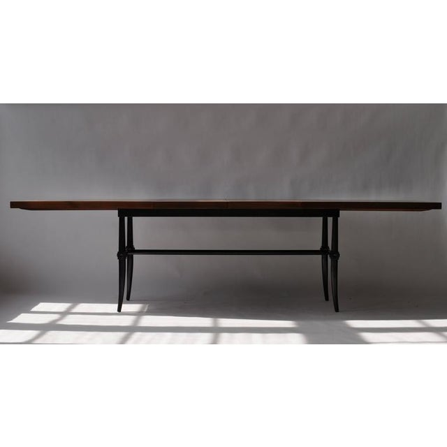 Early 20th Century Rare Dining Table by Tommi Parzinger For Sale - Image 5 of 9