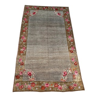 Vintage Turkish Oushak - 8′1″ × 13′6″ For Sale
