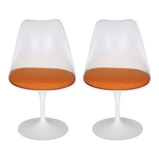 Pair of Eero Saarinen Tulip Chairs