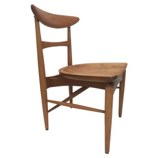 Mid-Century Modern Danish Birch Chair For Sale