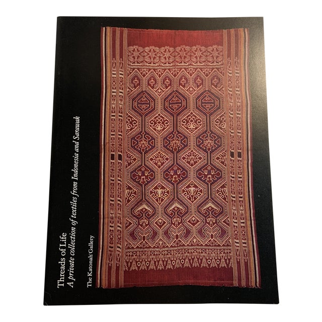 Threads of Life Textiles Indonesia Sarawak Book For Sale