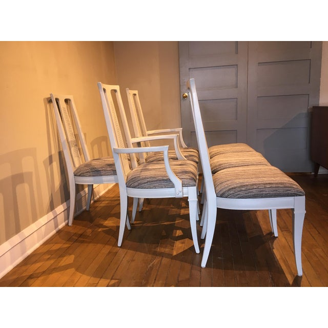 Vintage Dining Chairs- Set of 6 For Sale In Chicago - Image 6 of 7