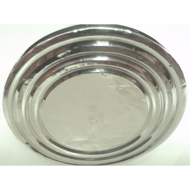 Mid-20th Century Revere Silversmiths Sterling Silver Candle Holder For Sale - Image 9 of 10
