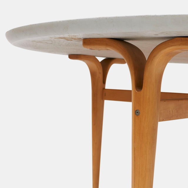 Danish Modern Bruno Mathsson table for DUX c1944 For Sale - Image 3 of 7