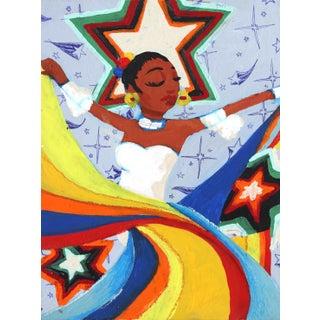 """""""Aquí Escuchando La Musica a Todo Volumen"""" Original Artwork by Danny Brown For Sale"""