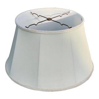 Vintage Silk-O-Lite Drum Lamp Shade For Sale