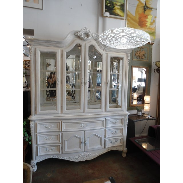 White China Hutch by Fairmont Designs - Image 3 of 10