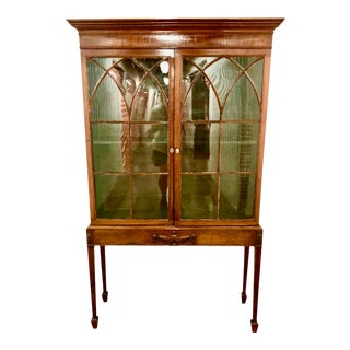 Late 18th Century George III Period Breakfront Cabinet For Sale