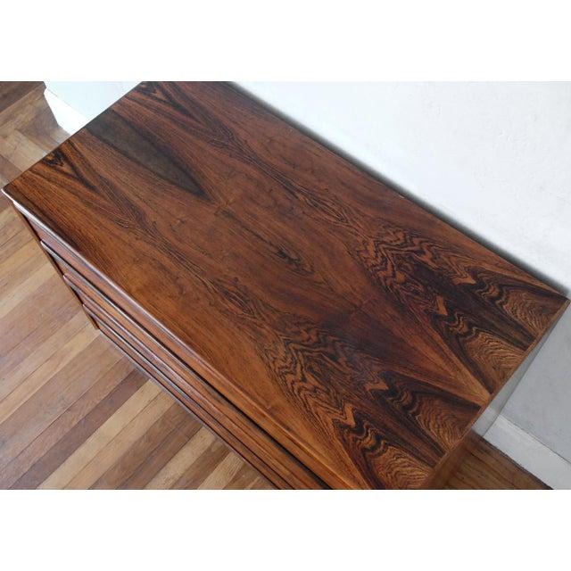 Mid-Century Modern Brazilian Rosewood Dresser - Image 7 of 8