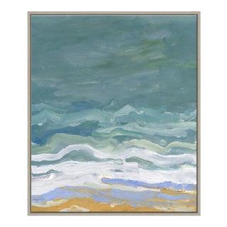 Making Waves II Canvas - Hand Embellished For Sale