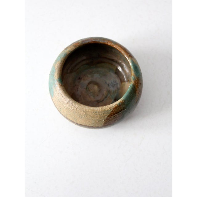 Mid 20th Century Mid-Century Studio Pottery Bowl For Sale - Image 5 of 7
