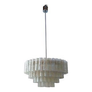 1960s Mid Century Modernist Chandelier For Sale