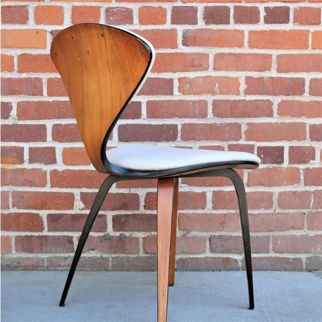 1950s Vintage Norman Cherner for Plycraft Molded Plywood Dining Chairs- Set of 6 For Sale - Image 11 of 13