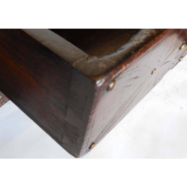Spanish Colonial Carved Table For Sale - Image 10 of 11