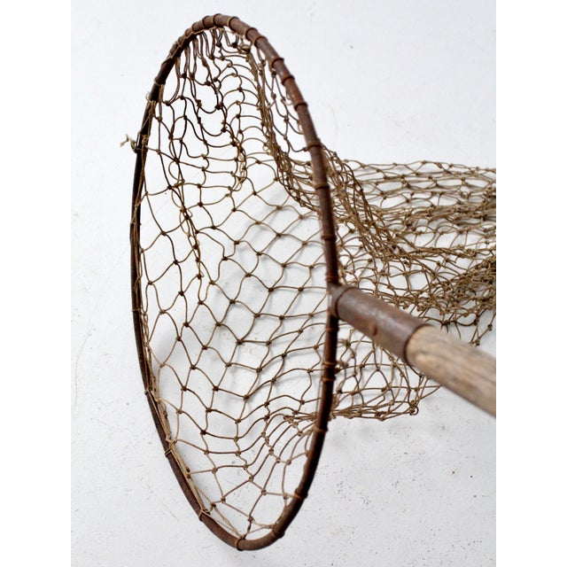 Fiber Antique Pole Fishing Net For Sale - Image 7 of 9