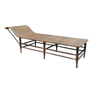 Antique Lanai Chaise Lounge For Sale