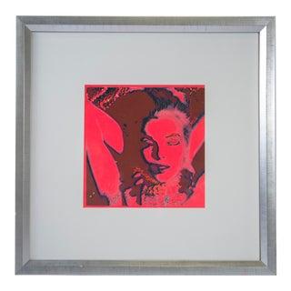 "1958 ""Avant Garde"" Serigraph ""Marilyn Monroe Trip #8"" by Bert Stern For Sale"