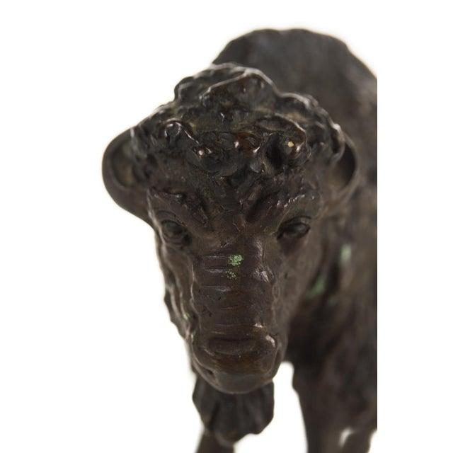 "Austrian Bronze 5"" Buffalo - Image 6 of 9"
