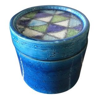 Vintage Bitossi Lidded Jar For Sale