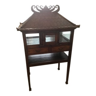 1930s Indonesian Chicken Coop Cabinet For Sale