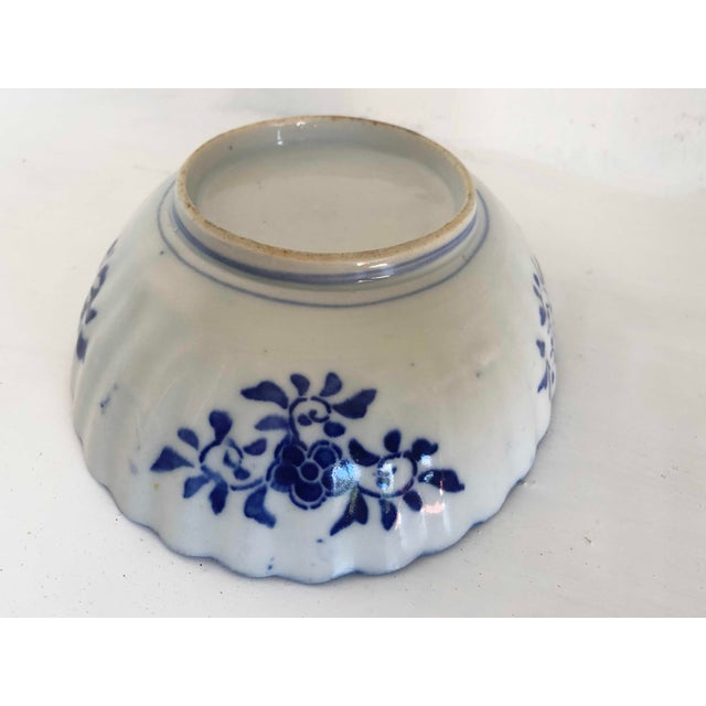 Antique Japanese Imari Oval Scalloped Bowl For Sale - Image 11 of 12