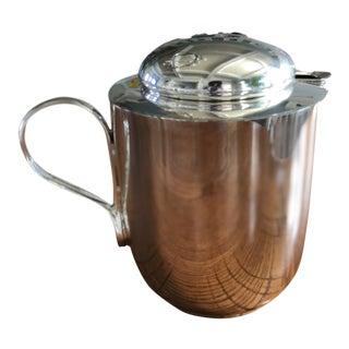 Vintage Dansk Silver Plated Teapot For Sale