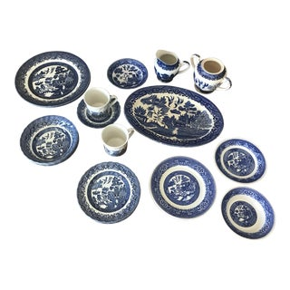 Blue Willow China - 20 Pieces For Sale