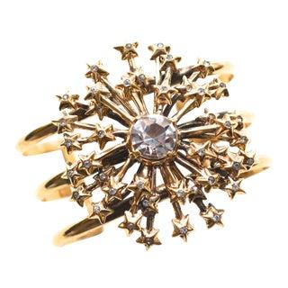 Nettie Rosenstein Sterling Star Bracelet For Sale