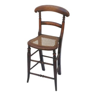 English Child's Correction Chair from the Georgian Era For Sale