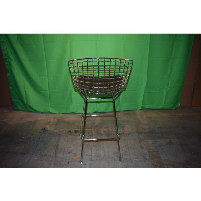 2010s Knoll Bertoia Barstool For Sale - Image 5 of 8