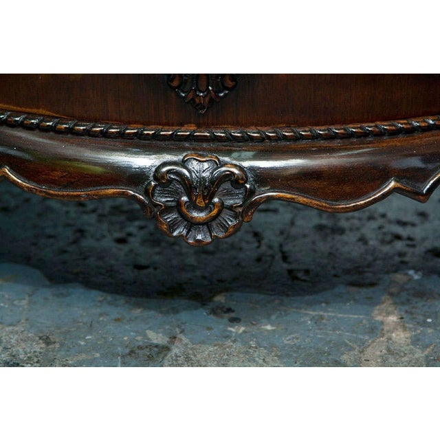 Gerogian Style Demi Lune Commode - Image 6 of 10