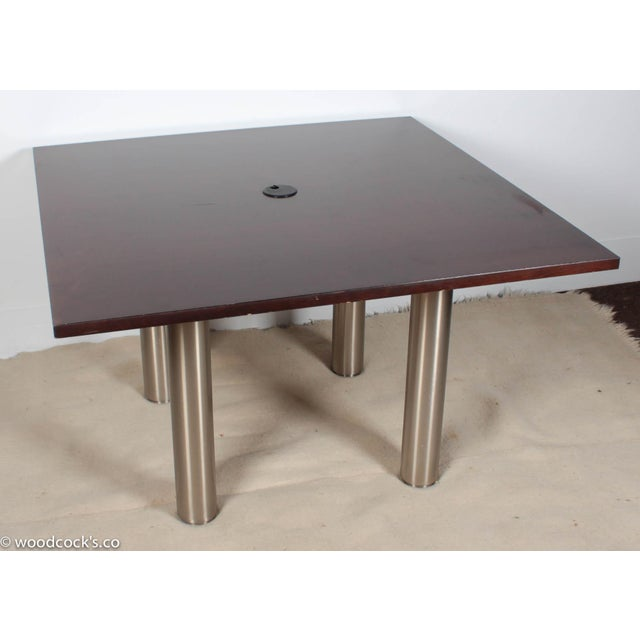 Knoll Reff Square 4ft Office Conference Table - Image 2 of 6