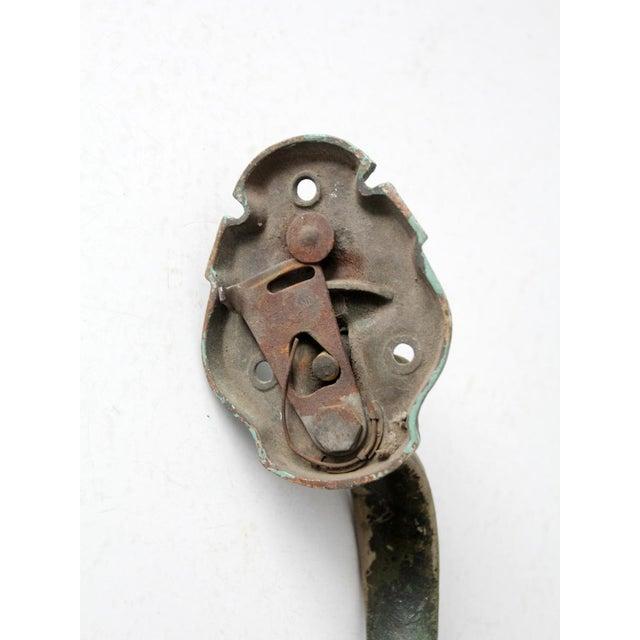 Metal Victorian Door Handle For Sale - Image 7 of 8
