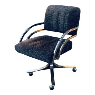 Vintage Mid Century Modern Daystrom Rolling Office Chair For Sale