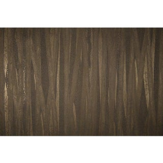 Sample, Seagrass II Baltic Brown - Vinyl Wallcovering For Sale