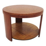 Image of Cork Topped Occasional Table For Sale