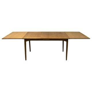 20th Century Walnut Extension Table by Carl Malmsten For Sale