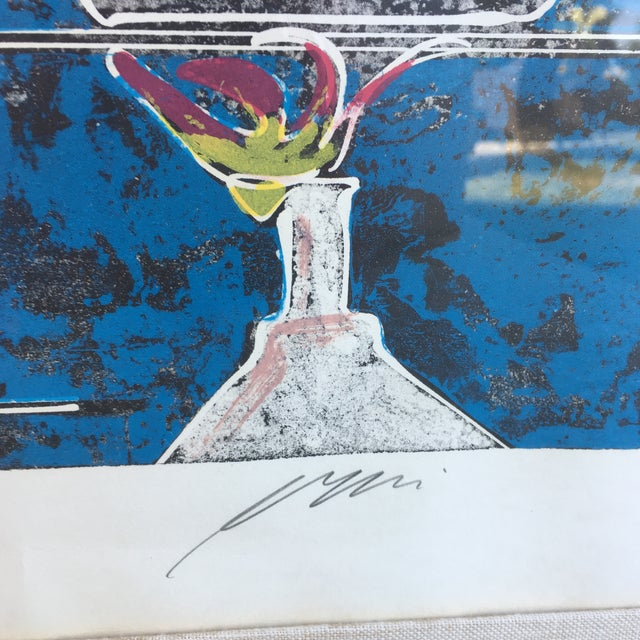 Mid-Century Signed Hans Erni Lithograph - Image 4 of 11