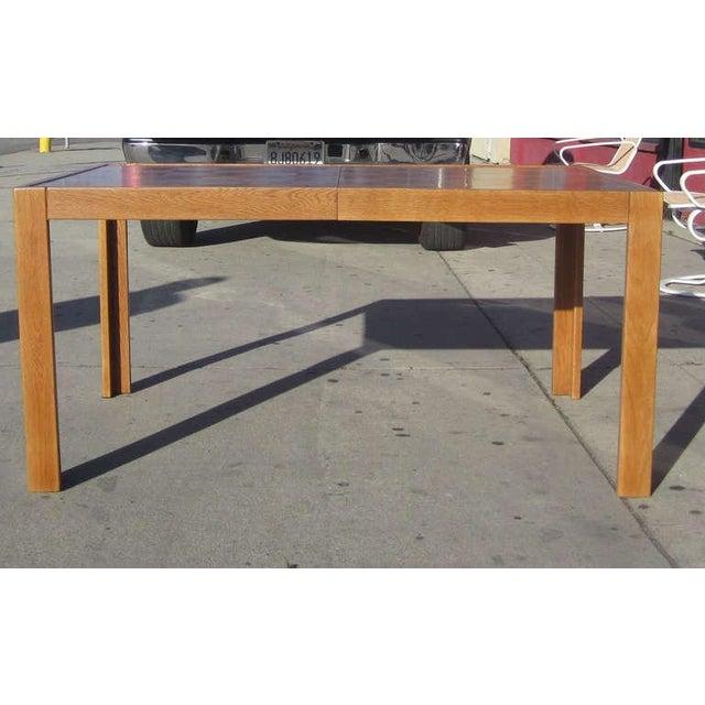 Parquet-Top Parsons Table - Image 2 of 6
