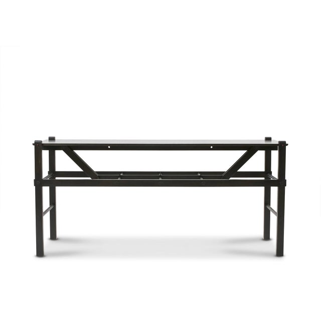 Ash 'Brindle' Ash Wood Console Table Handcrafted by Danny Rosa For Sale - Image 7 of 7